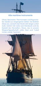 Flyer Schiffsuhren